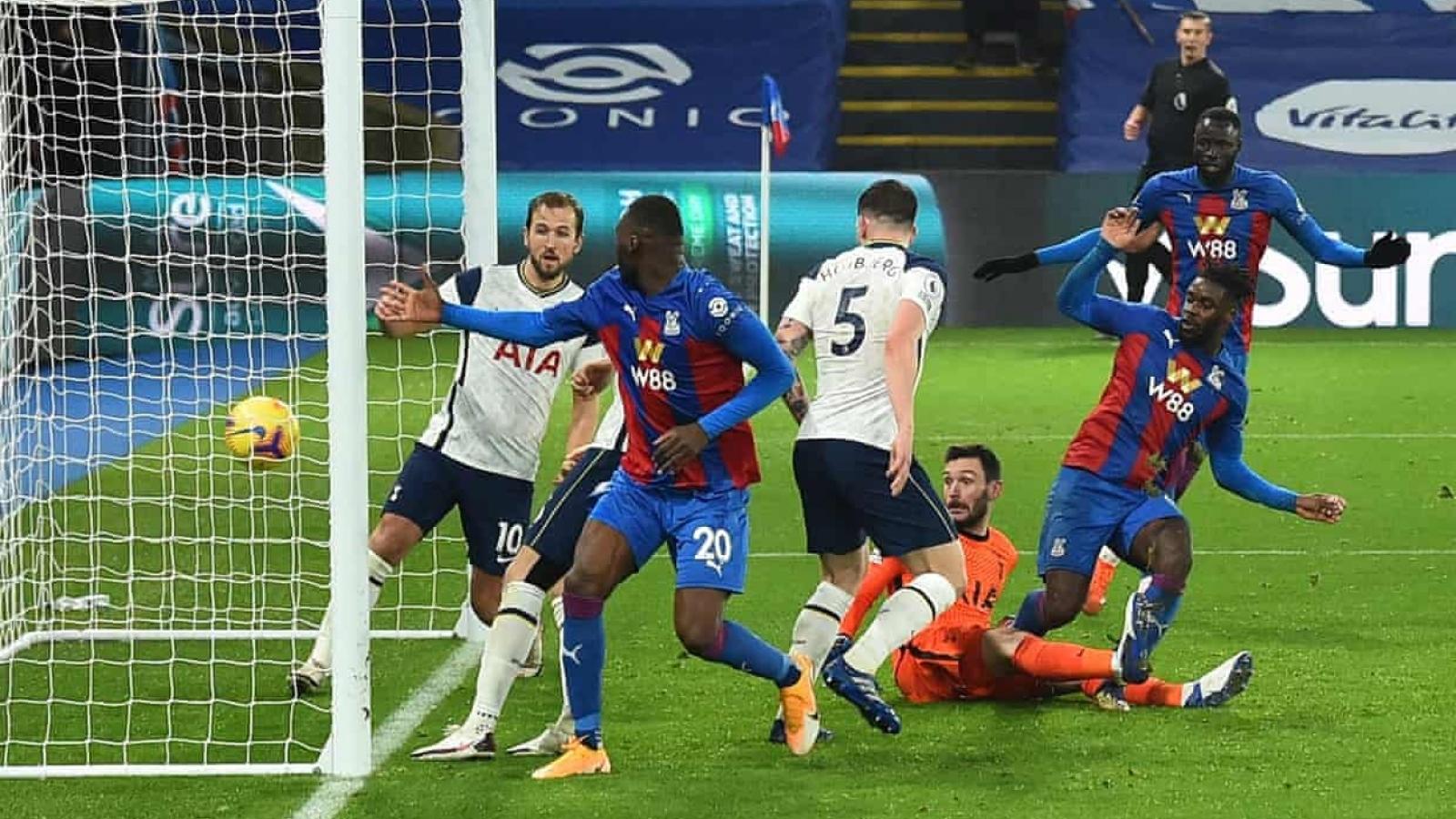 Kane ghi bàn như truyện Tsubasa, Tottenham vẫn ôm hận trước Crystal Palace
