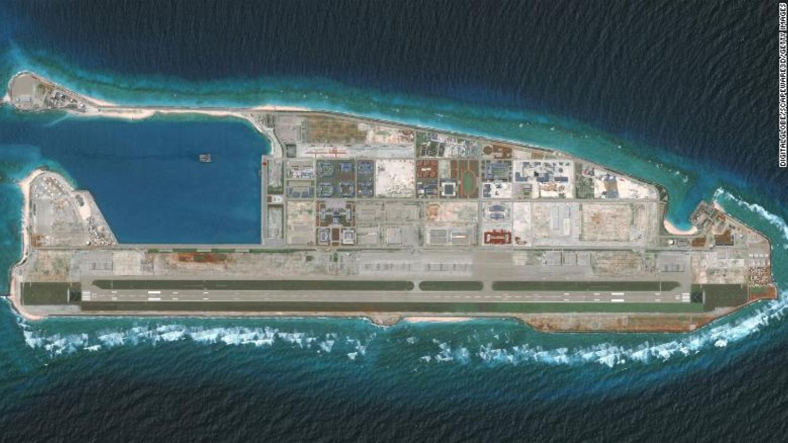 Điểm yếu chết người của các căn cứ phi pháp Trung Quốc lập ở Biển Đông