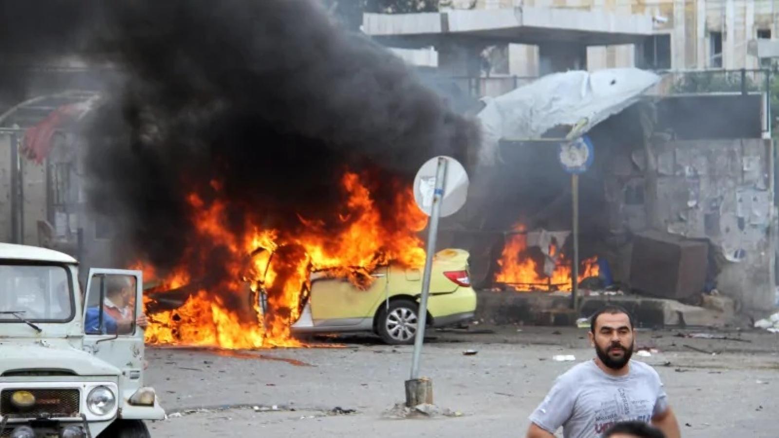 Tấn công xe bus ở Syria, 28 người thiệt mạng