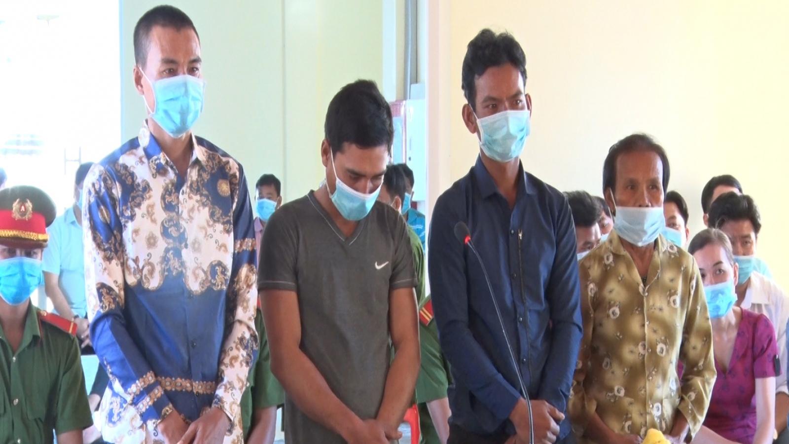 Kiên Giang: Tuyên án 4 đối tượng chống người thi hành công vụ