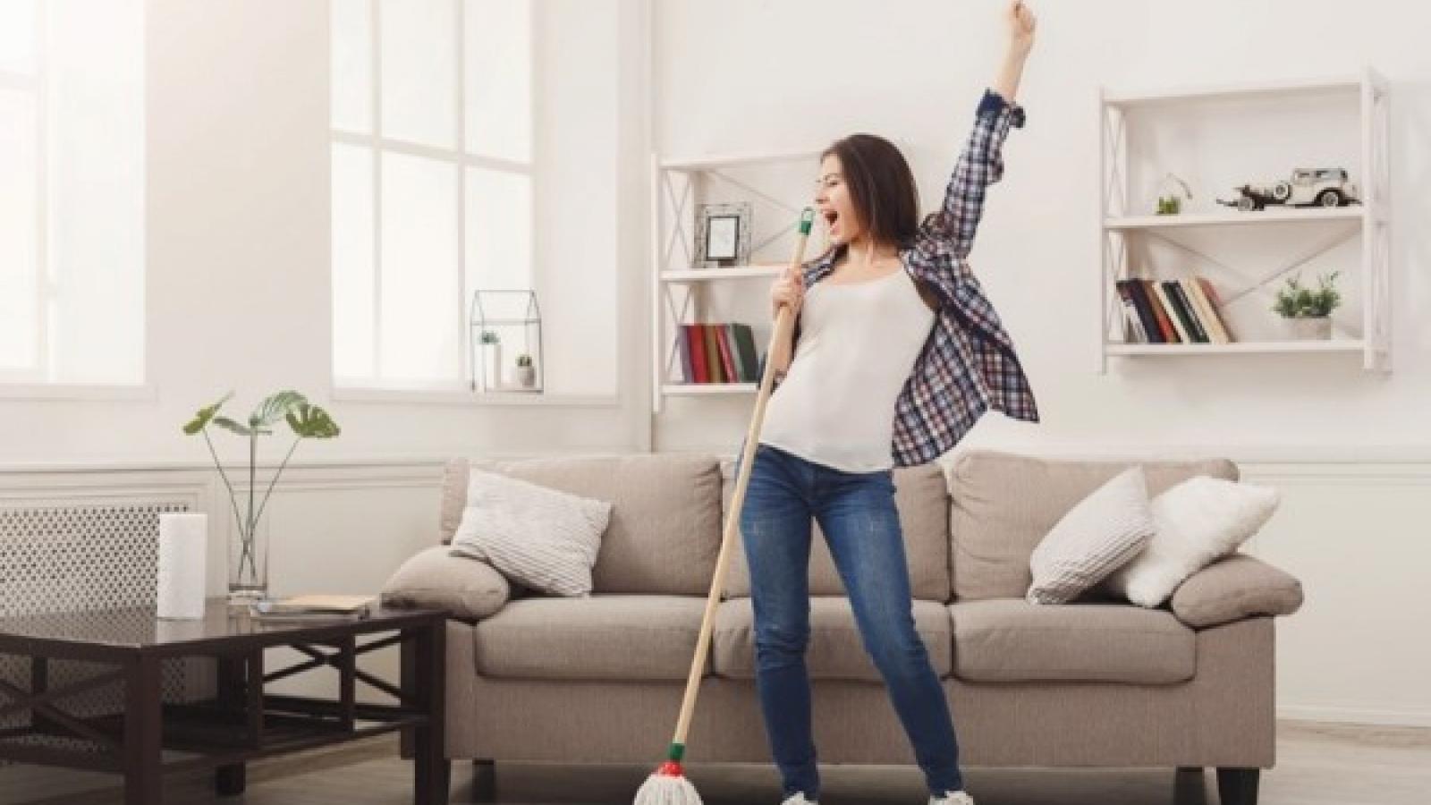 Những giải pháp giúp việc nhà của bạn bớt nhàm chán