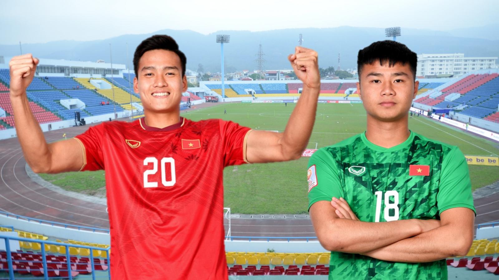 Đội hình U22 Việt Nam khi có thêm Văn Toản và Việt Anh từ ĐT Việt Nam