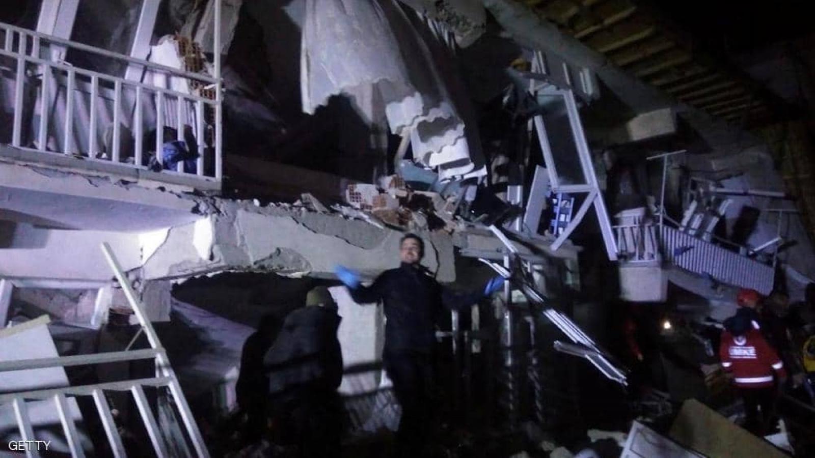 Động đất 5,3 độ richter ở Thổ Nhĩ Kỳ