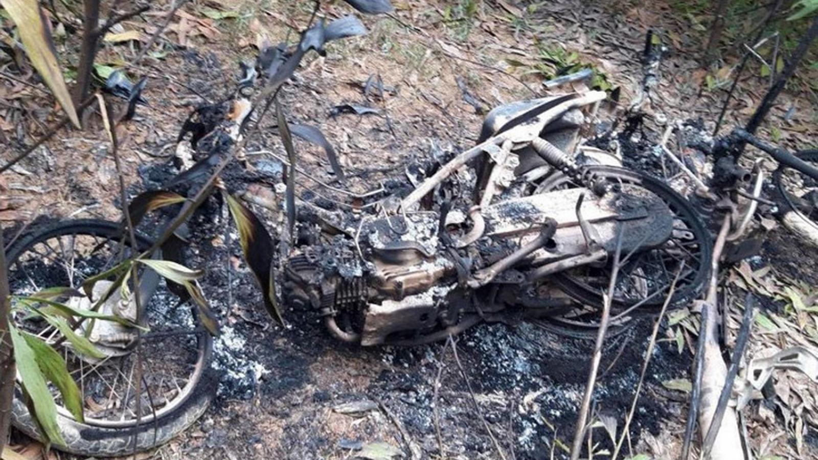 Bắt giữ nhóm người đốt cháy 5 xe máy của cán bộ bảo vệ rừng
