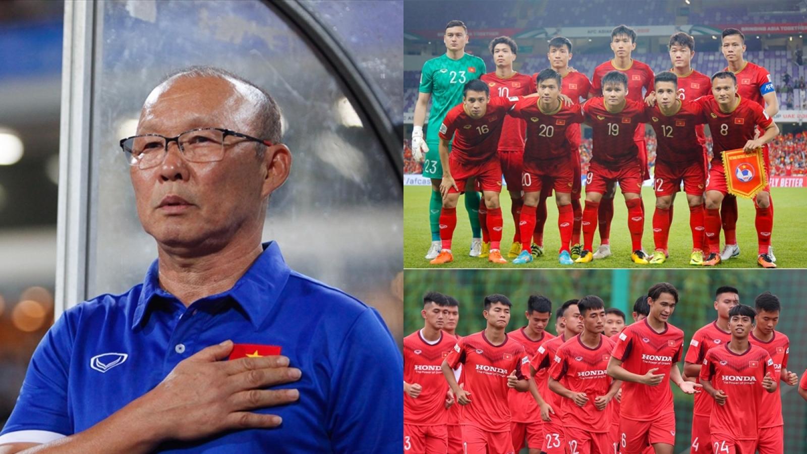 ĐT Việt Nam giao hữu U22 Việt Nam: Thầy Park sẽ dẫn dắt đội nào?