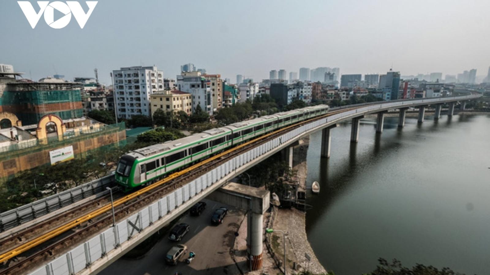 Vận hành thử đường sắt Cát Linh - Hà Đông