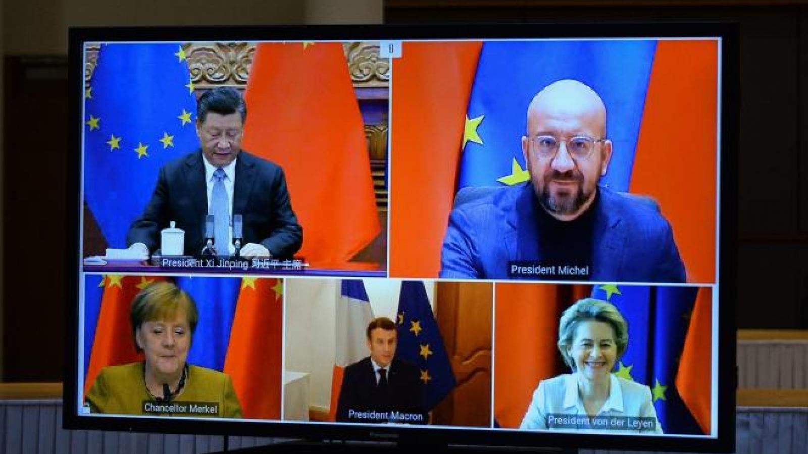 EU-Trung Quốc hoàn tất Hiệp định đầu tư