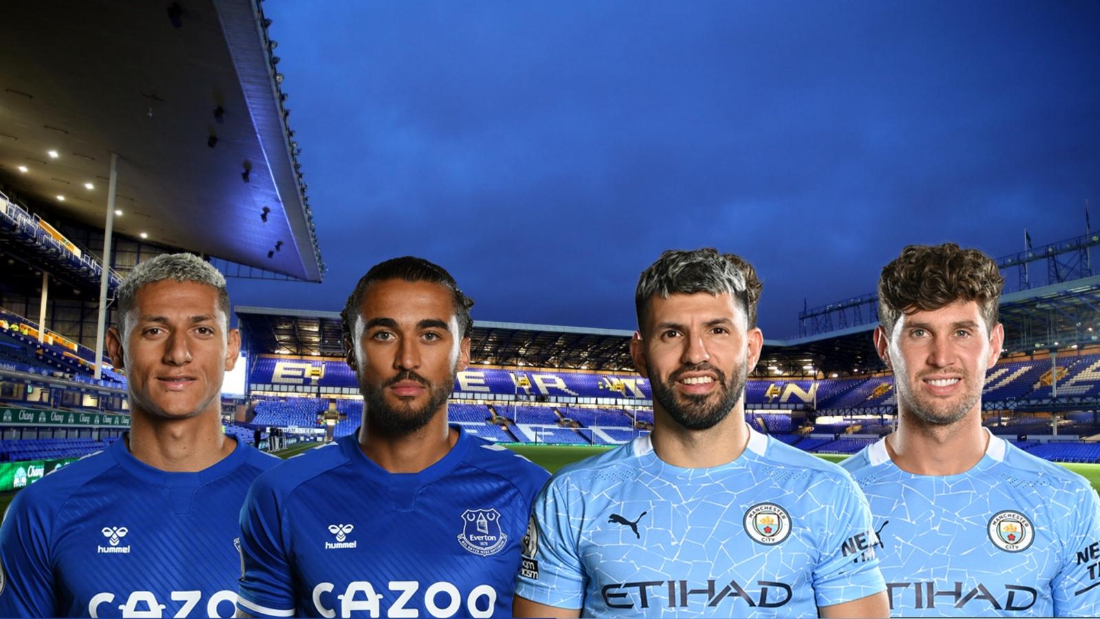 Dự đoán tỷ số, đội hình xuất phát trận Everton - Man City