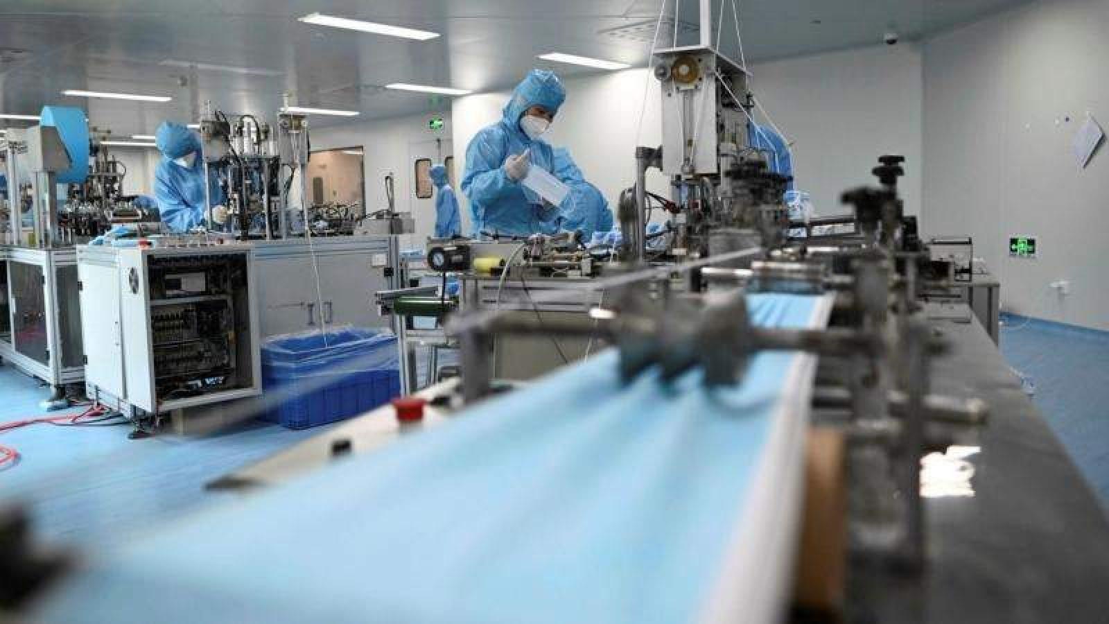 Hơn 1,3 tỷ chiếc khẩu trang y tế được xuất khẩu