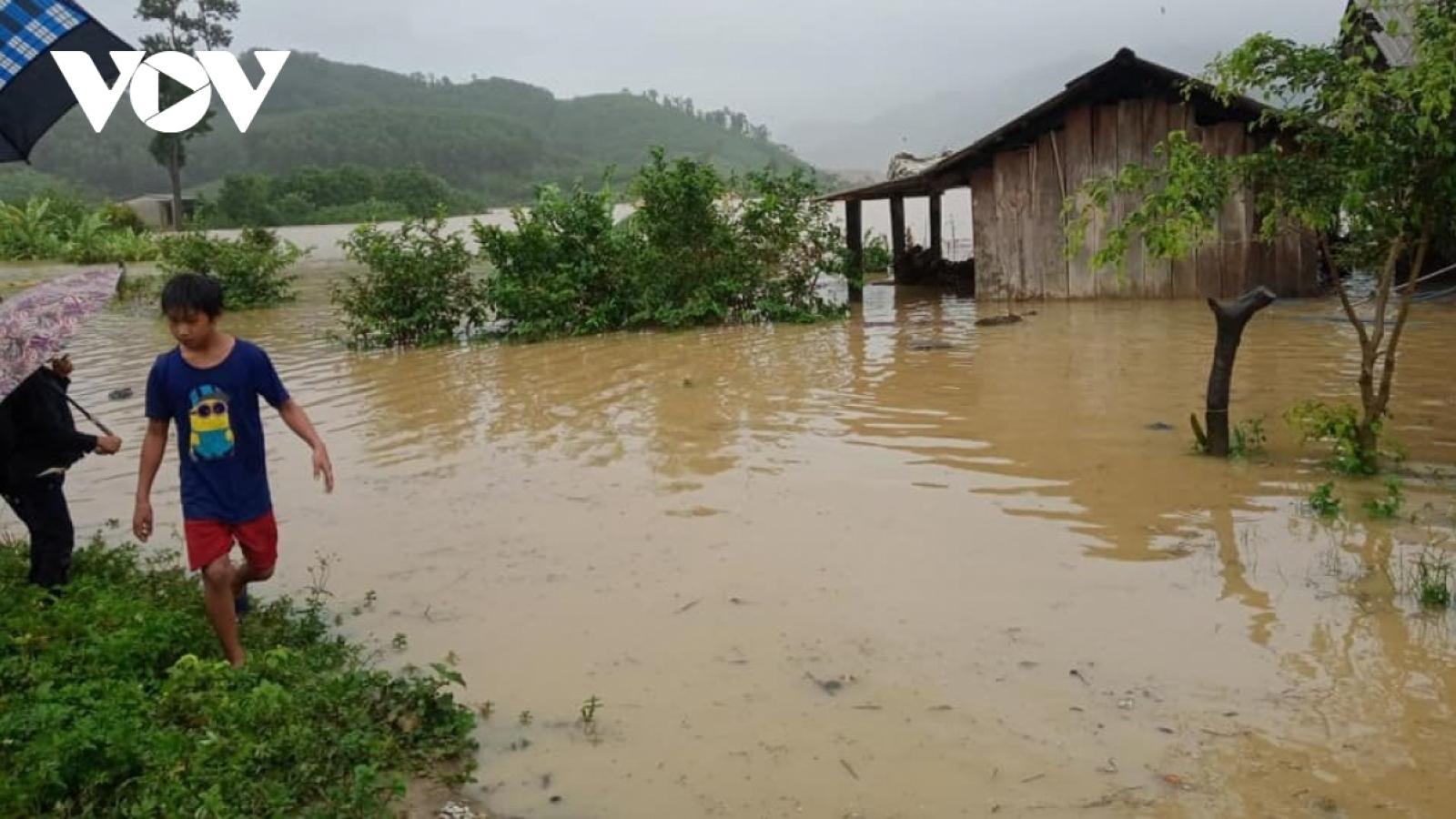 Cảnh báo lũ khẩn cấp trên các sông ở Đắk Lắk