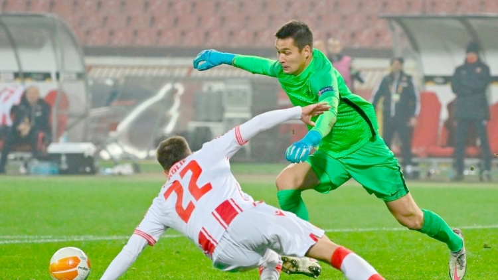 Filip Nguyễn ngậm ngùi chia tay Europa League 2020/2021