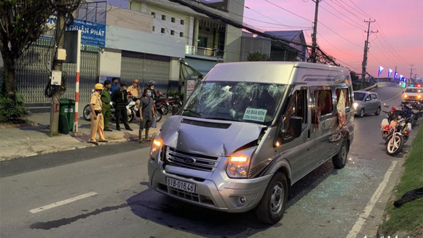 Bắt giữ khẩn cấp các đối tượng trong vụ chém nhiều người bị thương trên QL91