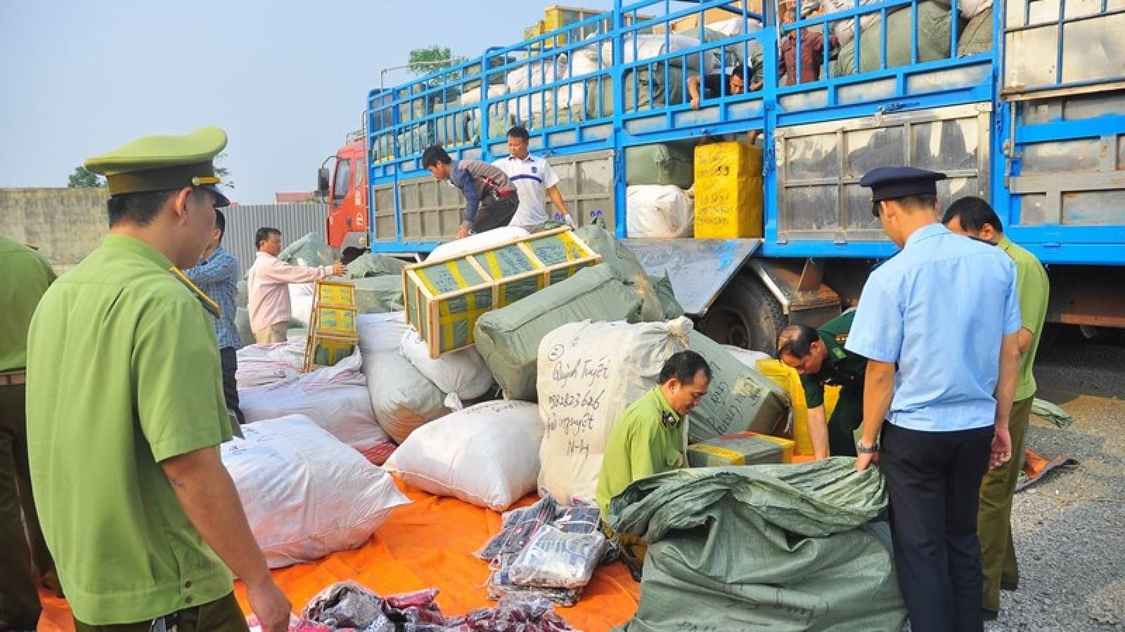 Tăng cường chống buôn lậu nhưng không để tắc hàng dịp cao điểm Tết Tân Sửu 2021