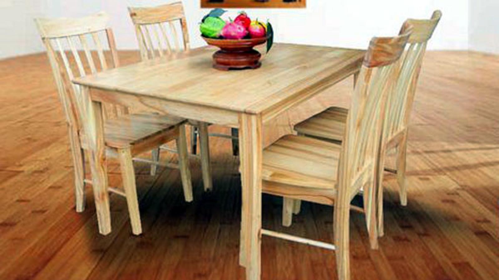 Ngành gỗ đang tiệm cận với chuỗi giá trị sản phẩm toàn cầu