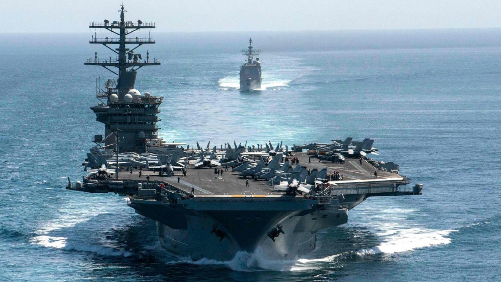 Mỹ tái lập Hạm đội 1, tăng cường hiện diện hải quân tại Ấn Độ-Thái Bình Dương