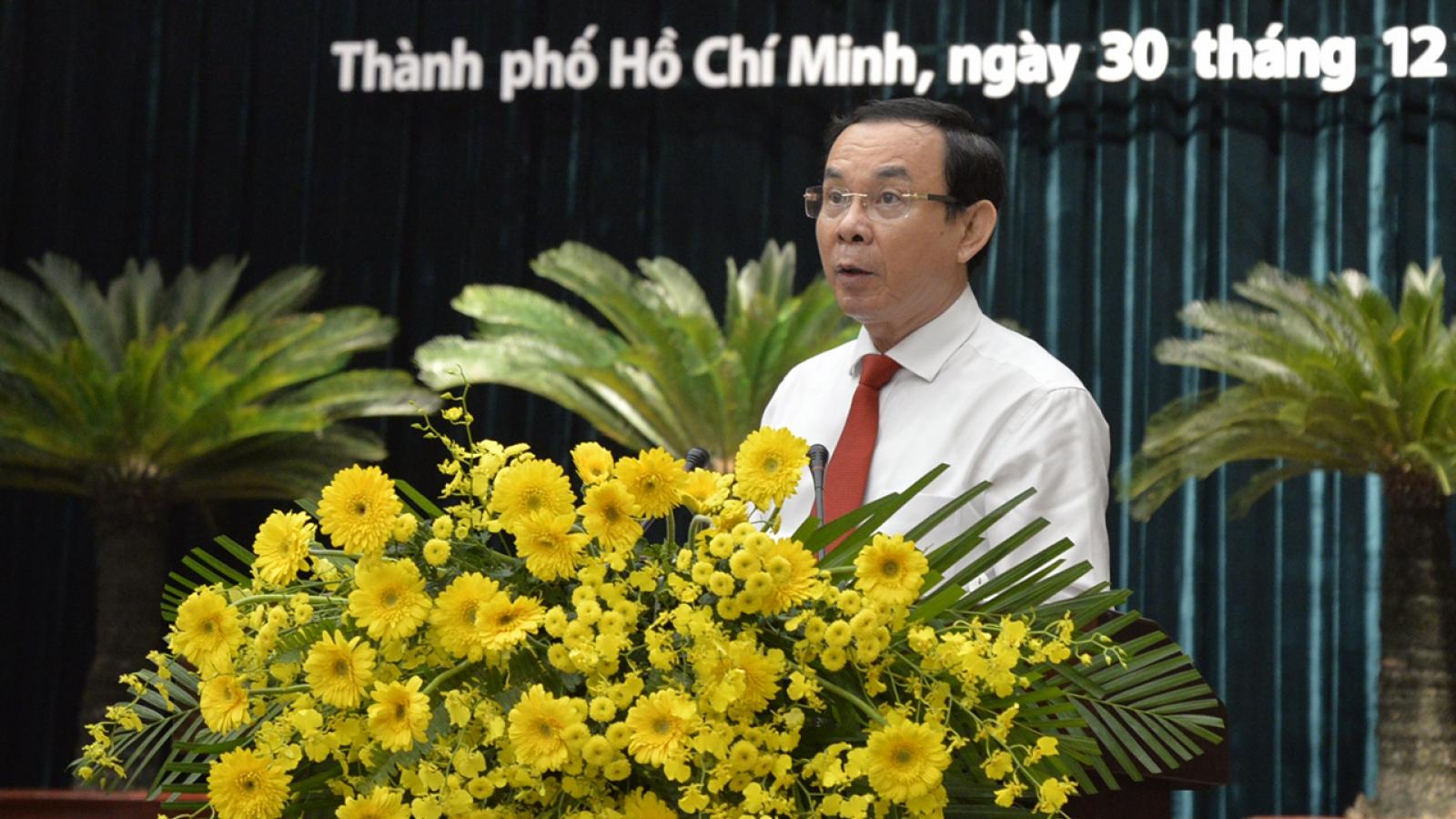 Bí thư Thành ủy Nguyễn Văn Nên nhấn mạnh quy hoạch TPHCM đến năm 2040