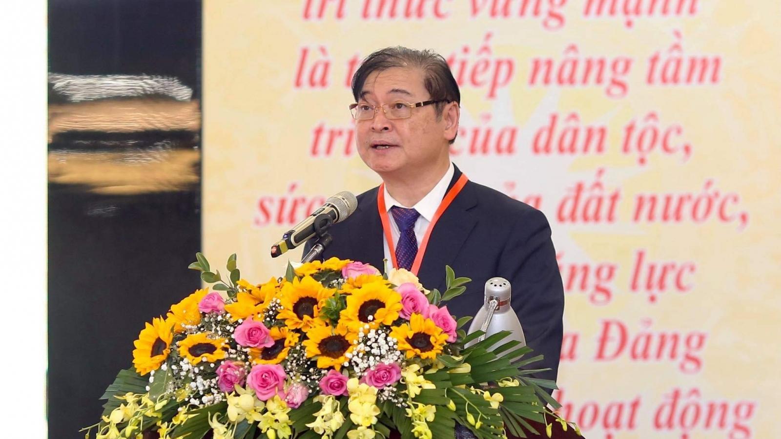 Ông Phan Xuân Dũng giữ chức Chủ tịch Liên hiệp Hội KHKT Việt Nam