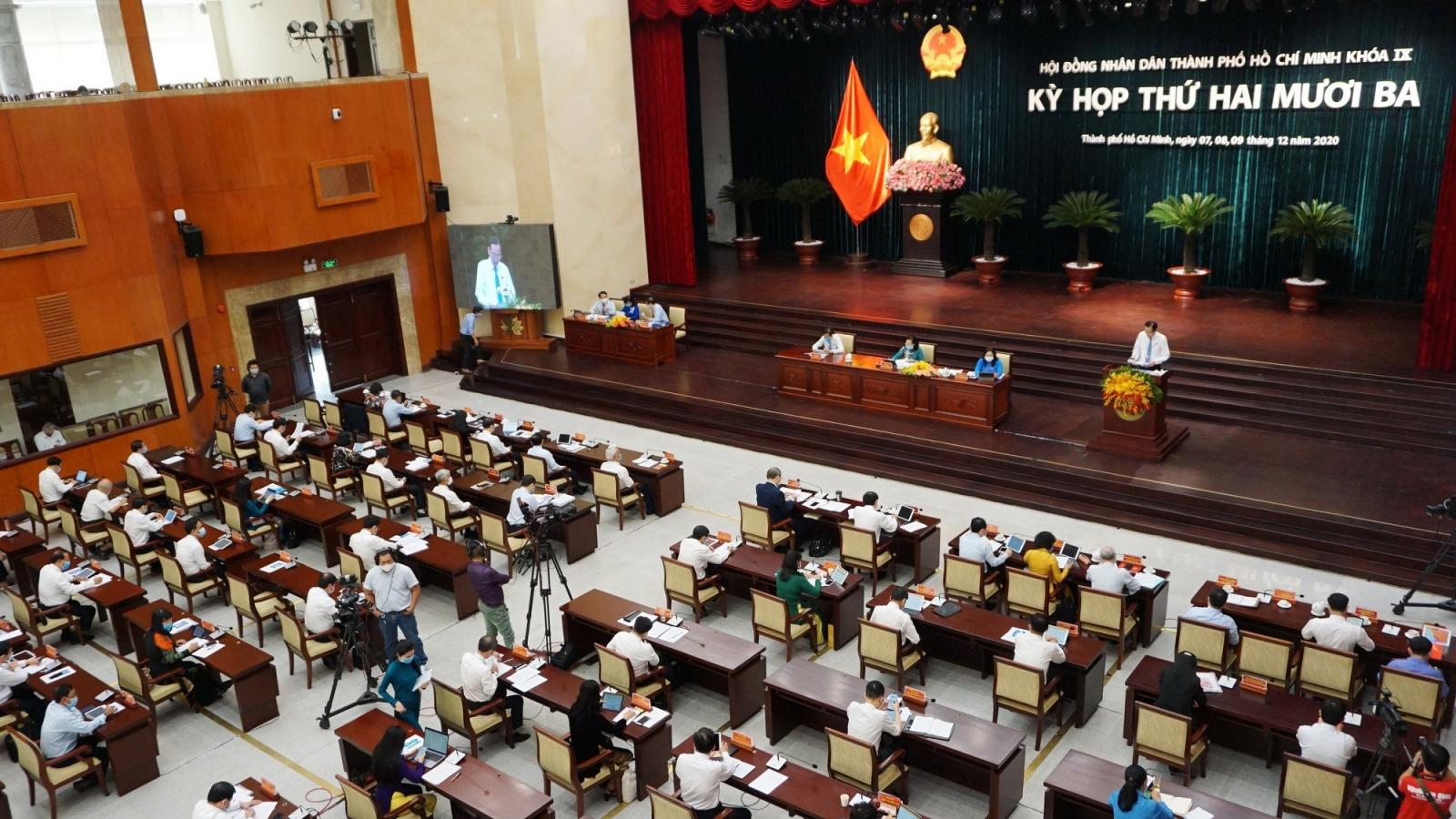 Kỳ họp thứ 23 HĐND TPHCM: Sẽ chất vấn Chủ tịch Thành phố