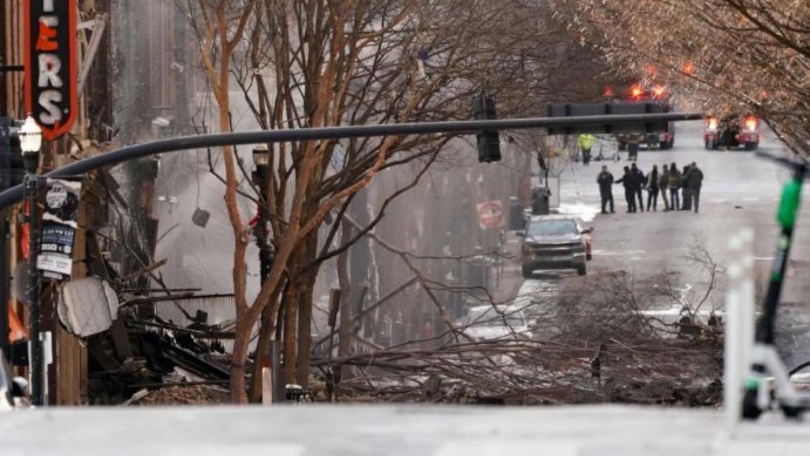 """Giới chức Mỹ khẩn trương xác định """"phần thi thể"""" gần hiện trường vụ nổ Nashville"""
