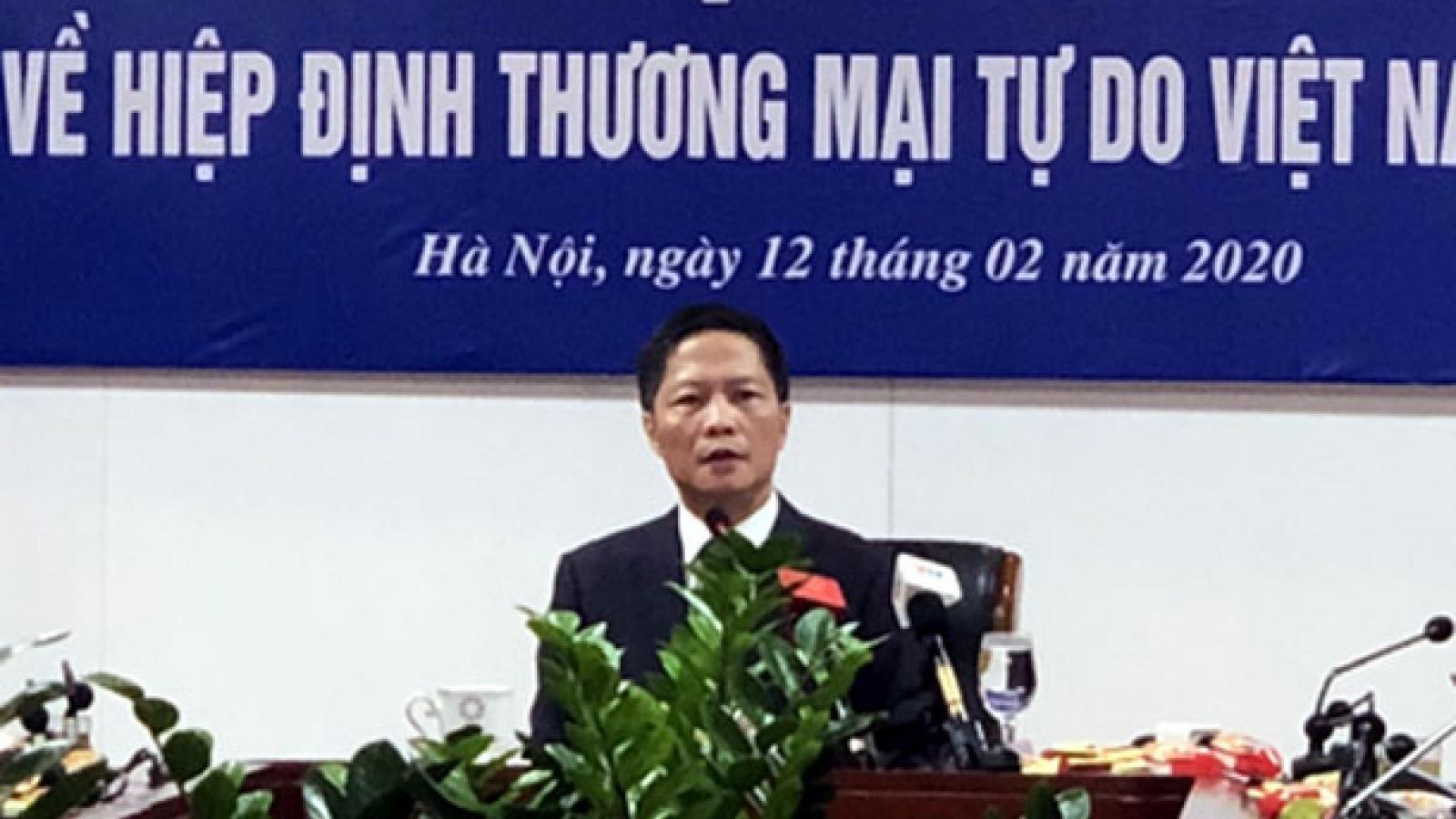Hiệp định thương mại tự do tác động tích cực cho phục hồi kinh tế Việt Nam