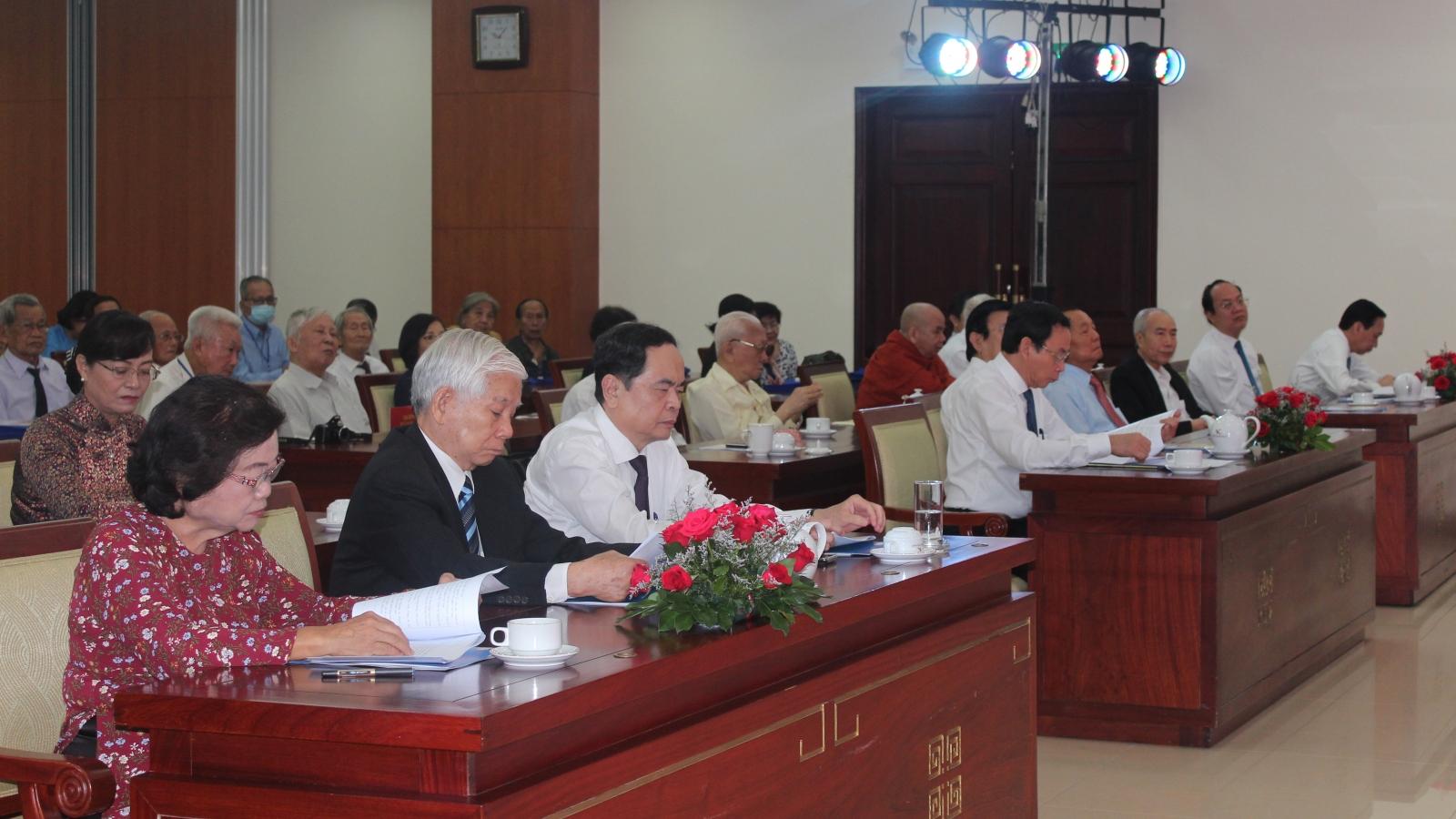 Họp mặt kỷ niệm 60 năm ngày thành lập Mặt trận Dân tộc giải phóng miền Nam Việt Nam