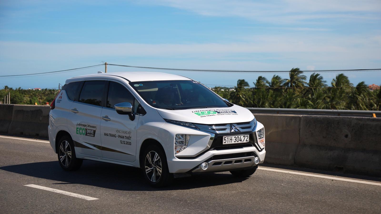Bất ngờ trước khả năng tiết kiệm nhiên liệu của Mitsubishi Xpander và Attrage