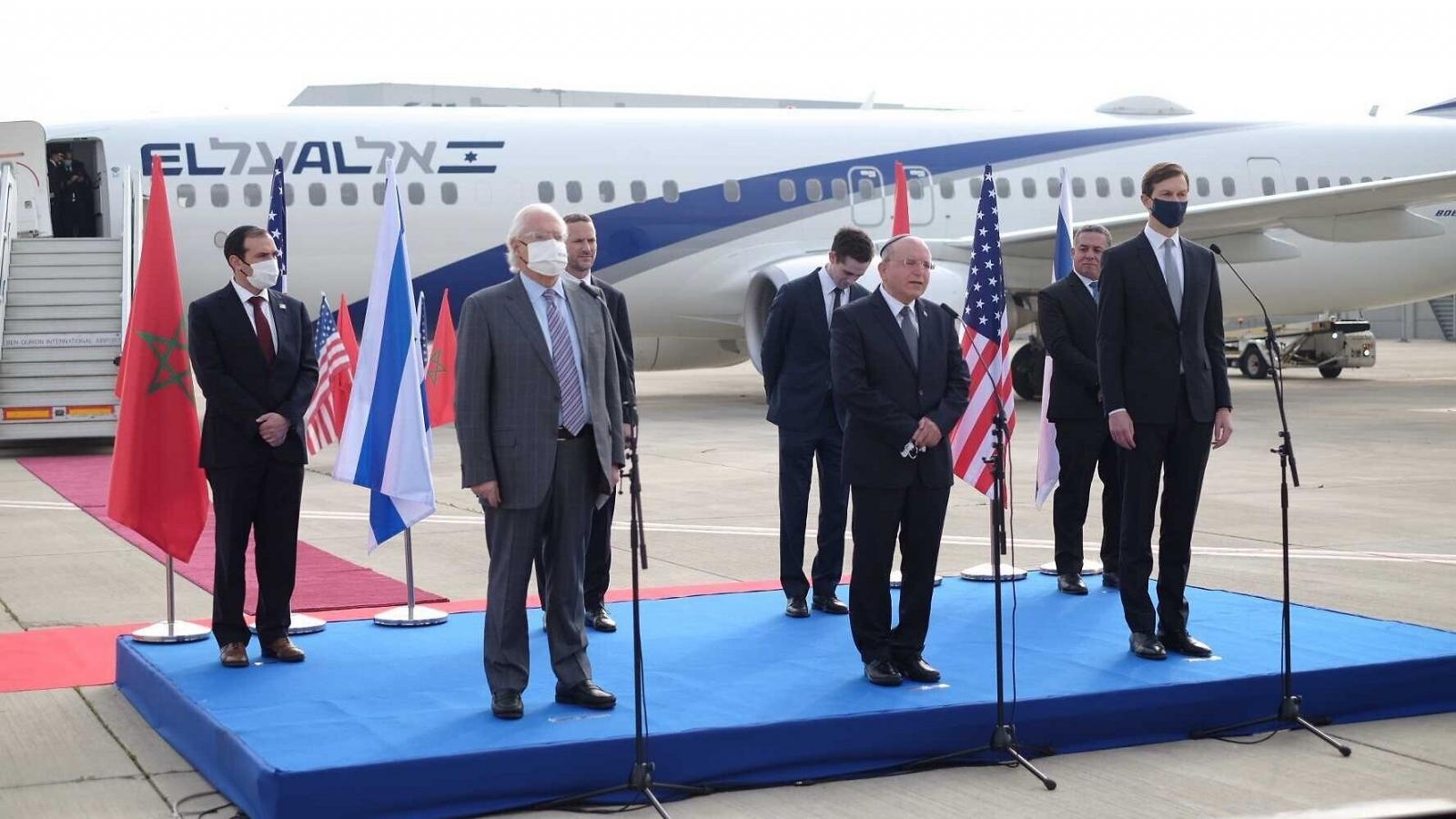 Quan hệ giữa Israel và Marốc sang trang mới