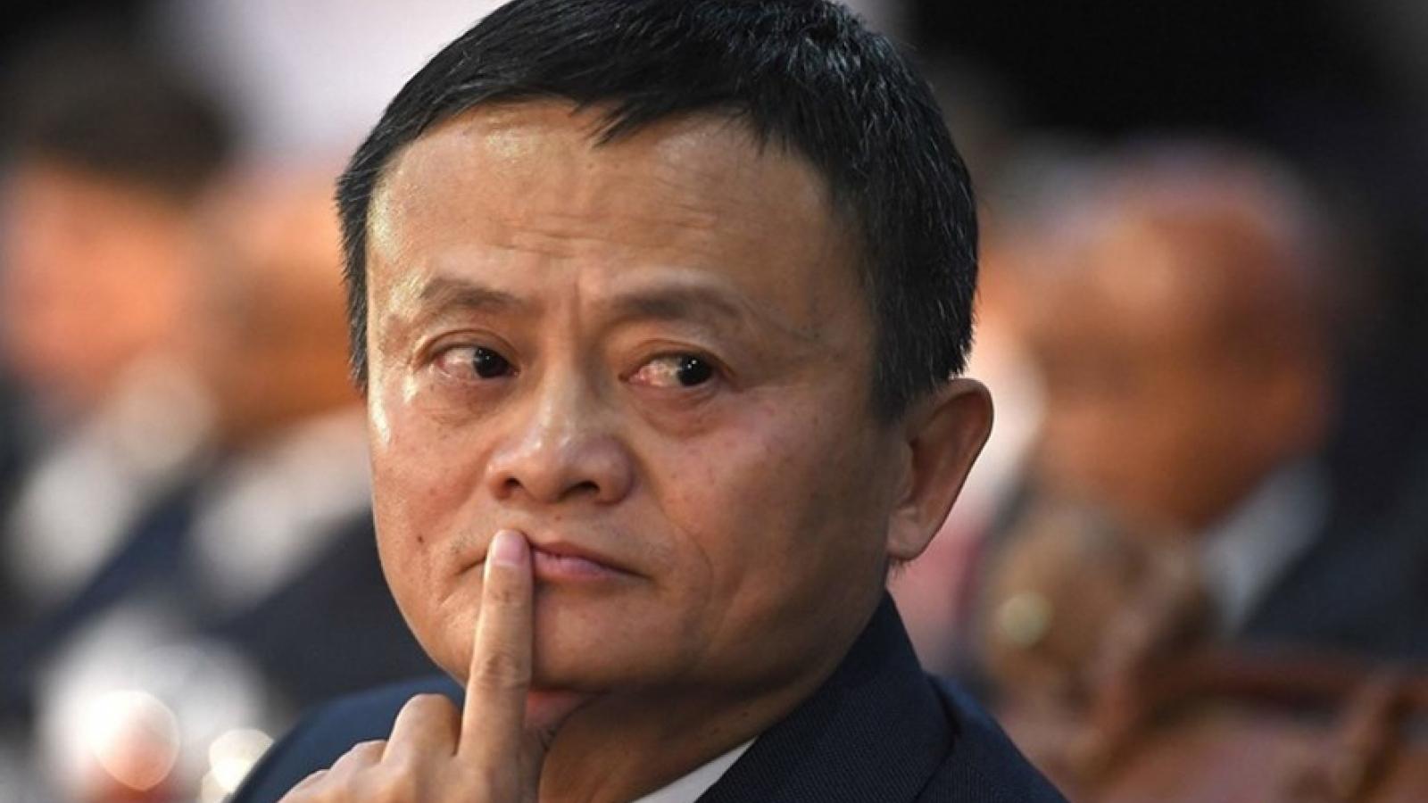 Tỷ phú Trung Quốc Jack Ma mất gần 11 tỷ USD trong hai tháng qua