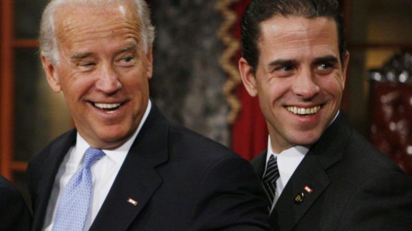 Joe Biden tin tưởng con trai Hunter Biden không làm gì sai