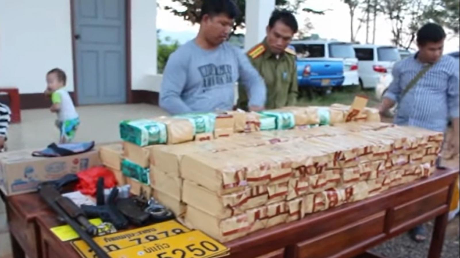 Lào triệt phá một địa điểm tàng trữ ma túy lớn ở miền Bắc