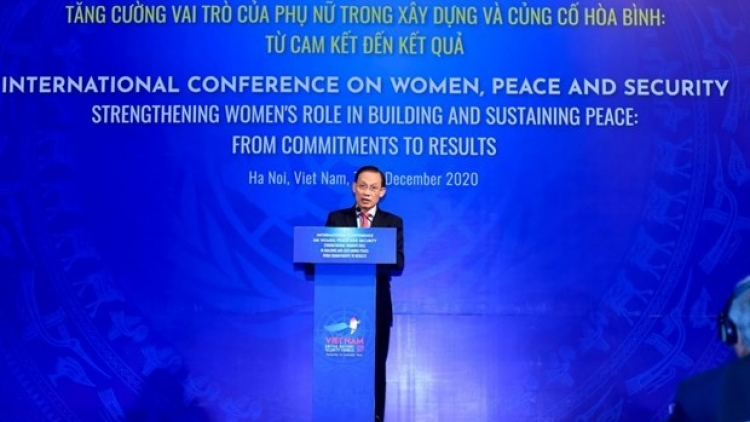 Vietnamese contributions to promoting women's role in building peace praised