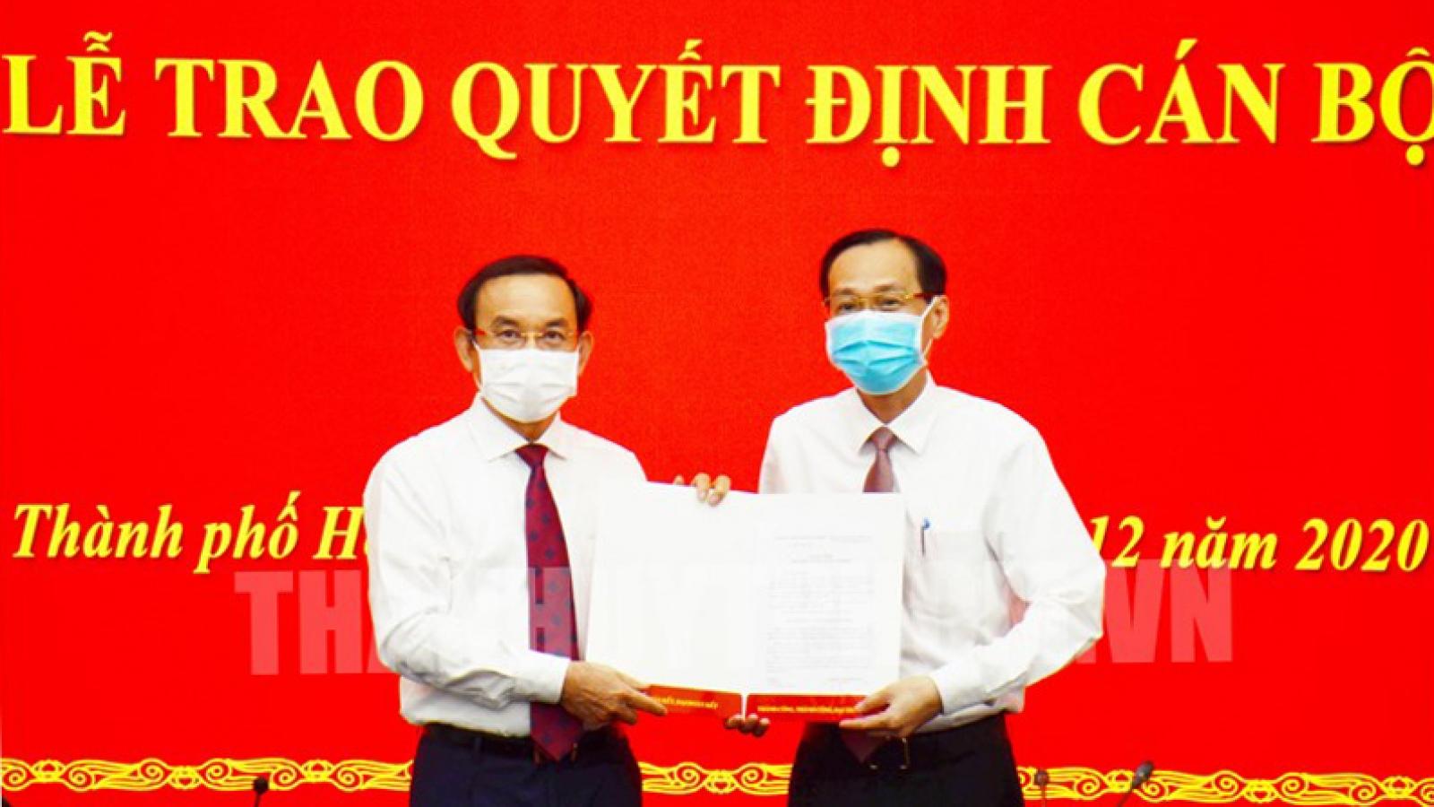 Phó Chủ tịch thường trực UBND TPHCM Lê Thanh Liêm làm Trưởng ban Nội chính Thành uỷ