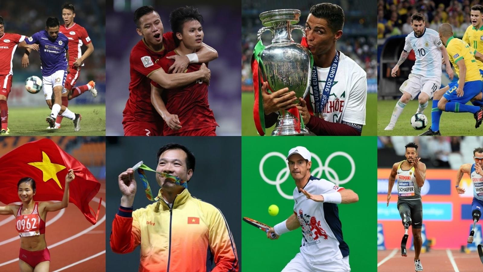 """Lịch thi đấu thể thao """"siêu bận rộn"""" năm 2021"""