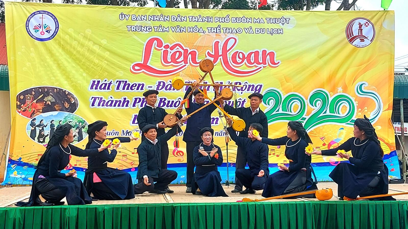 Đưa đàn tính, hát then Việt Bắc vào Tây Nguyên