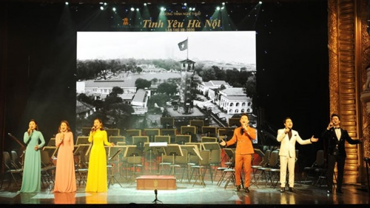 "13th ""Love for Hanoi' art programme held"