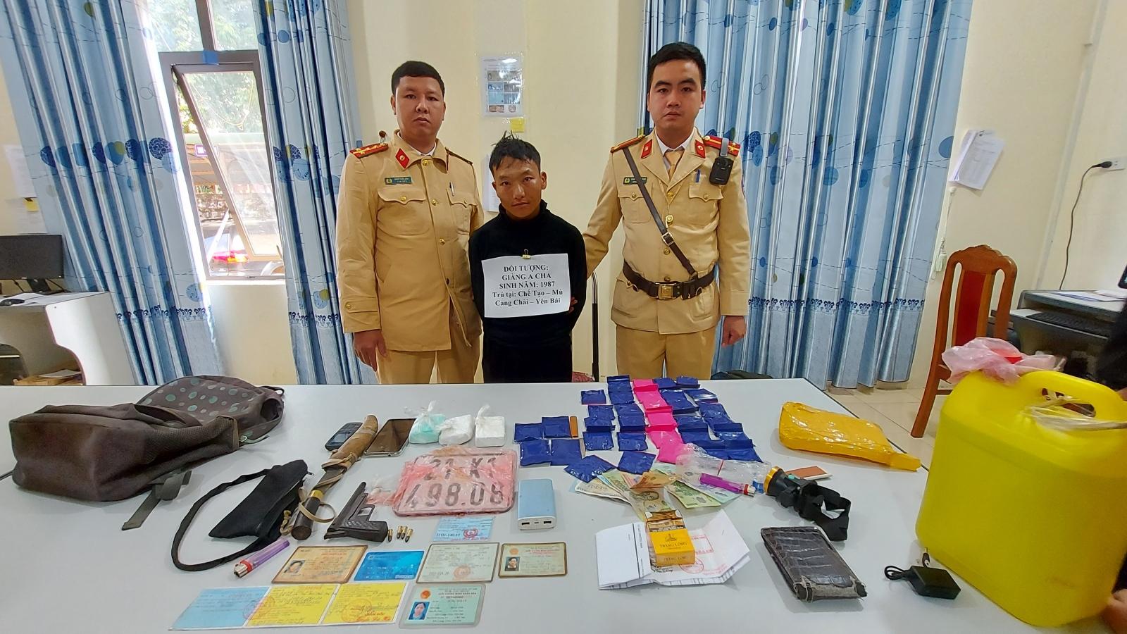 Công an Sơn La bắt 3 vụ mua bán, tàng trữ trái phép chất ma túy trong 1 ngày