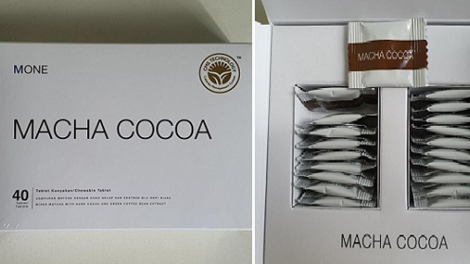 Bộ Y tế khuyến cáo người tiêu dùng không mua sản phẩm giảm béo chứa chất cấm