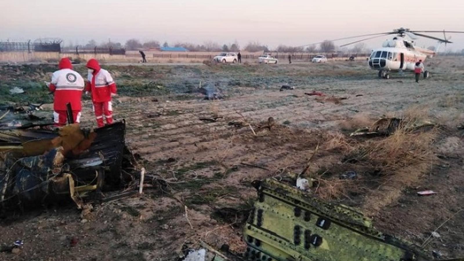 Iran bồi thường cho gia đình các nạn nhân trong vụ rơi máy bay Ukraine