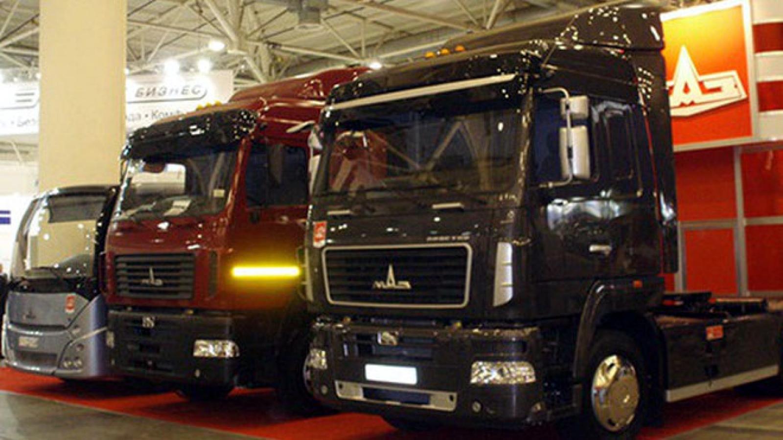 Nhiều dòng xe của Belarus tiếp tục được sản xuất tại Việt Nam