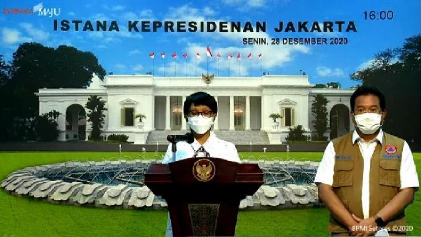 Indonesia đóng cửa với tất cả các nước do lo ngại biến thể virus SARS-CoV-2