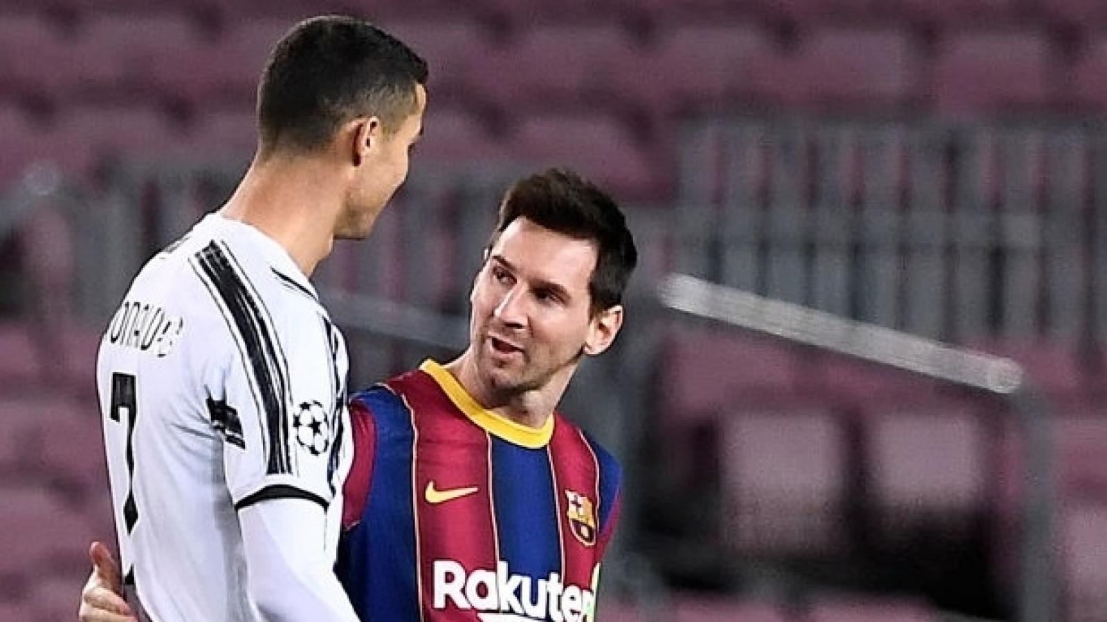 Sau tất cả, Messi thừa nhận ngưỡng mộ Ronaldo