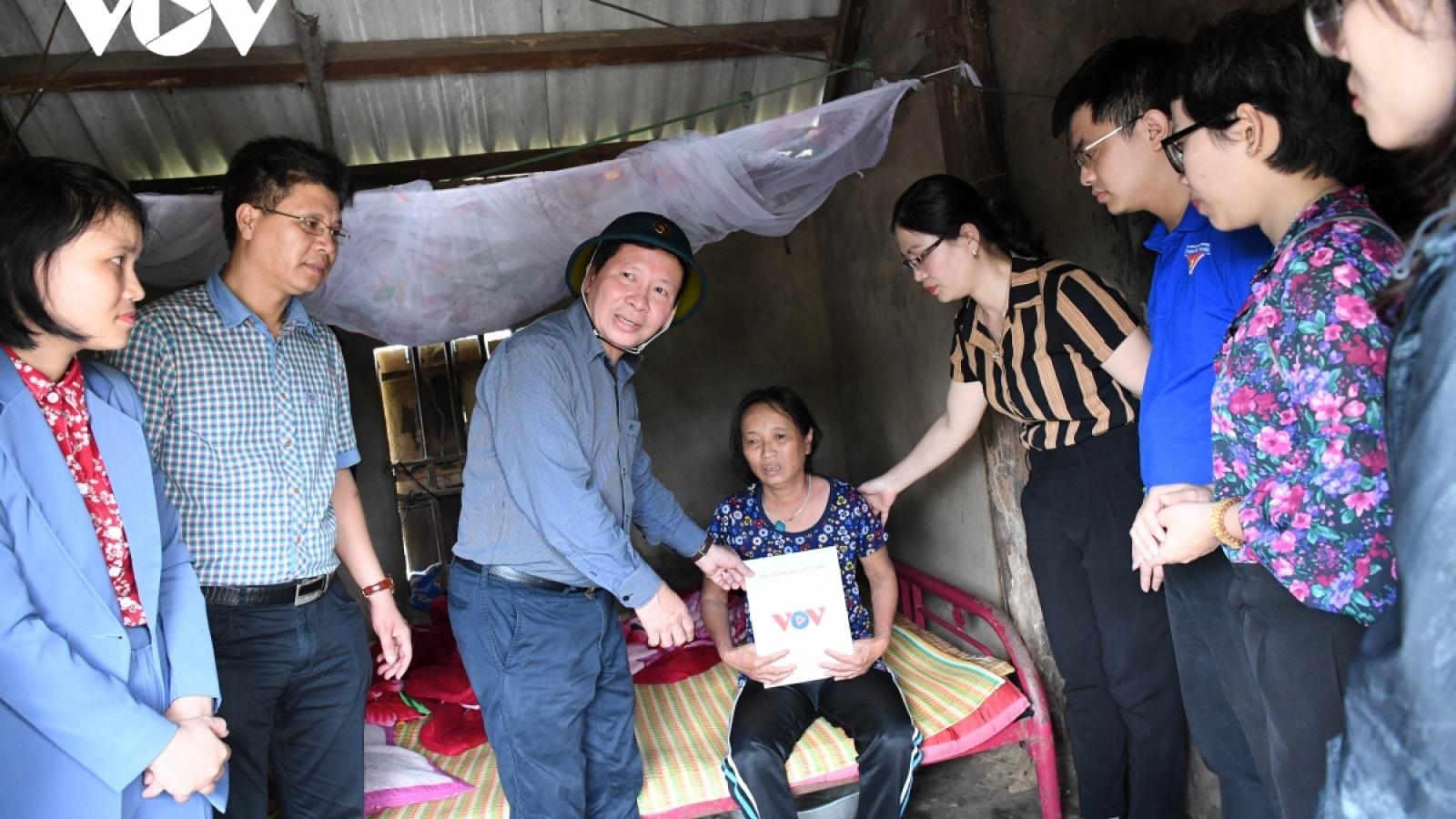 VOV tiếp tục chương trình thiện nguyện tại Quảng Nam và Quảng Ngãi
