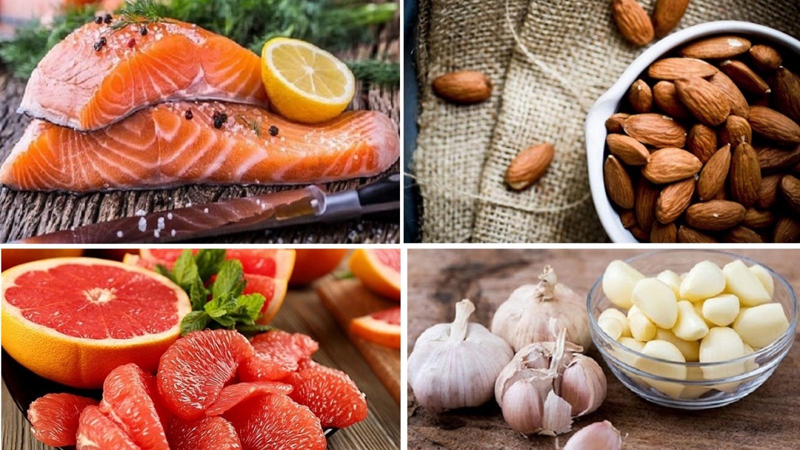10 thực phẩm vàng giúp bạn phòng tránh đột quỵ