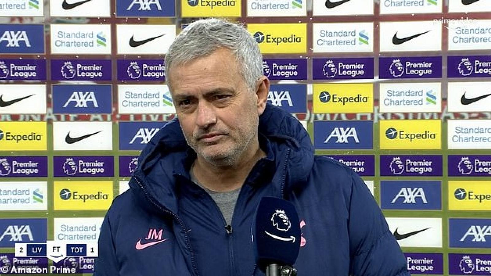 """Jose Mourinho: """"Đội chơi hay hơn đã thua"""""""