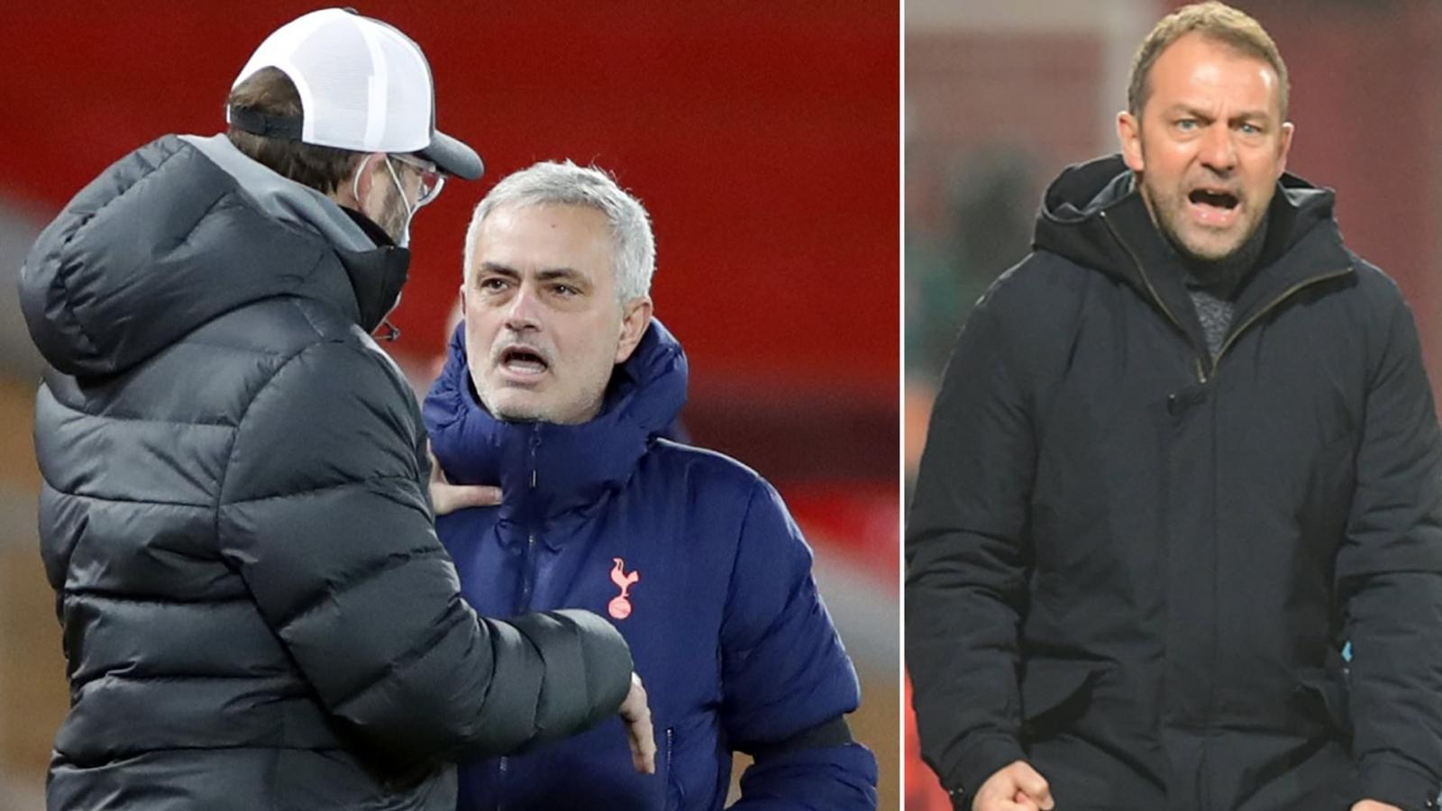 "Mourinho mỉa mai danh hiệu ""HLV xuất sắc nhất năm"" của Klopp"