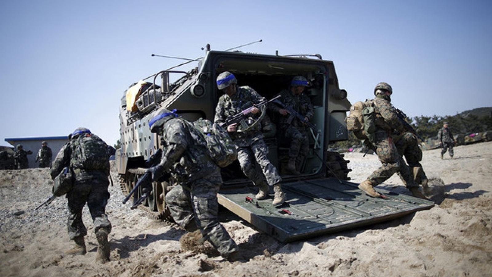 10 binh sĩ Mỹ ở Hàn Quốc mắc Covid-19