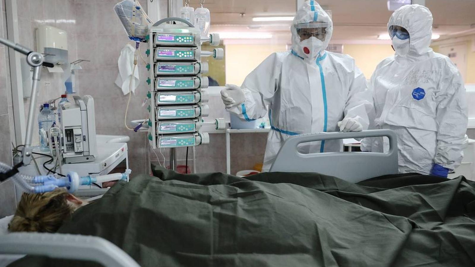 Nga chiếm vị trí thứ 4 trên thế giới với hơn 3 triệu người nhiễm dịch Covid-19