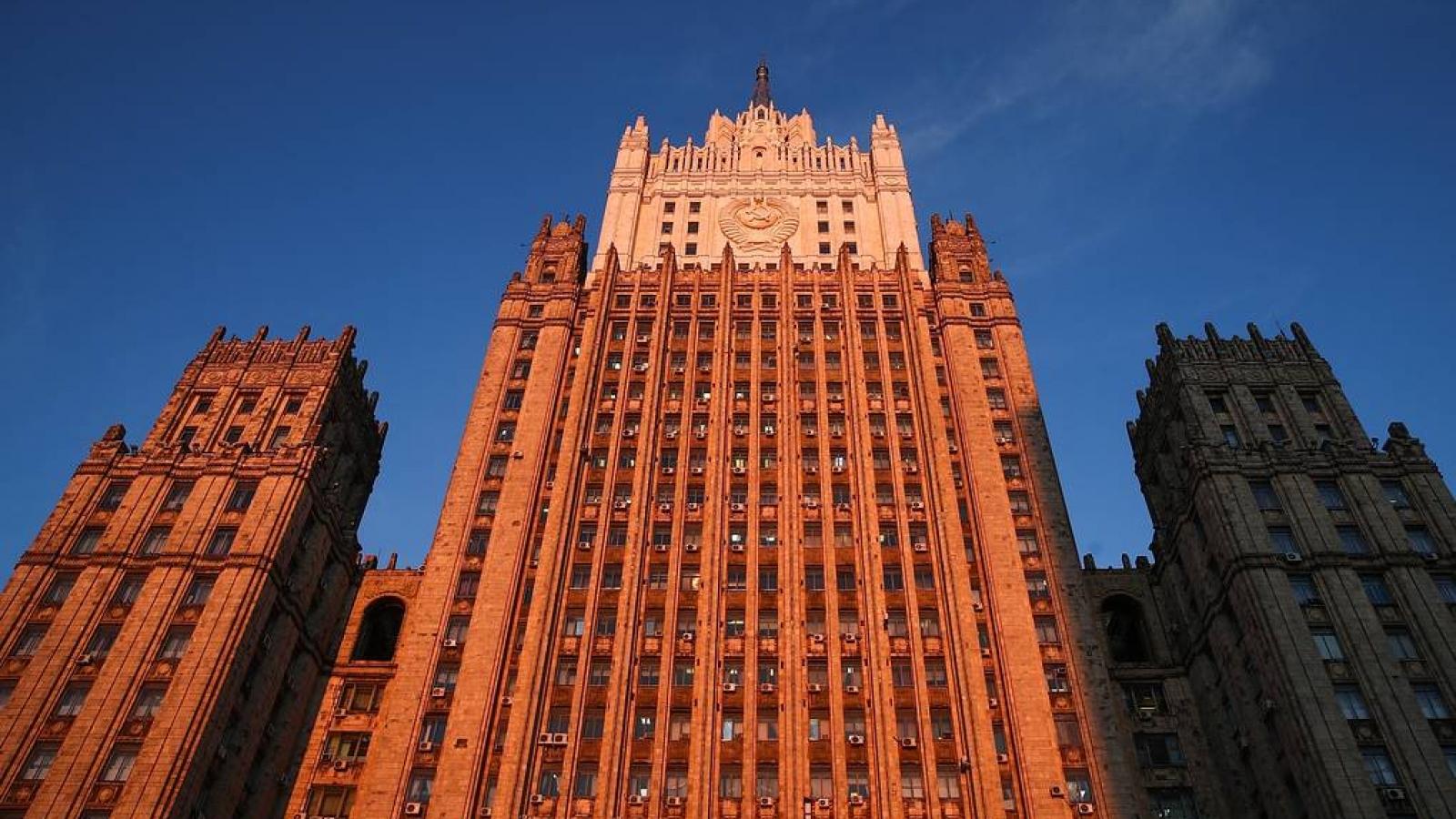 Bộ Ngoại giao Nga đe dọa sẽ đáp trả các lệnh trừng phạt mới của Anh