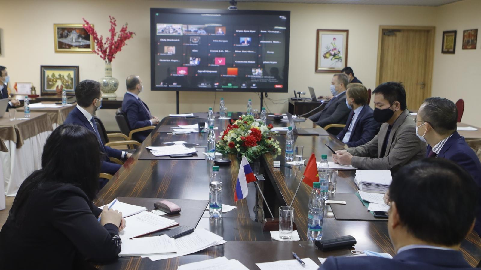 Thúc đẩy quan hệ kinh tế thương mại Việt - Nga trong bối cảnh mới