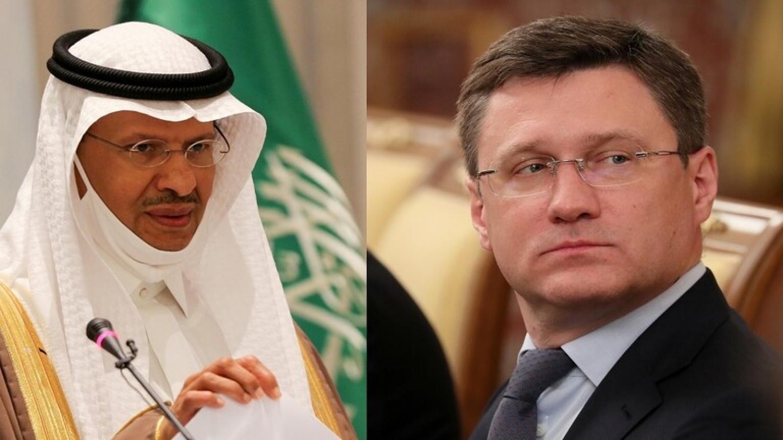 Saudi Arabia và Nga cam kết các thỏa thuận OPEC+